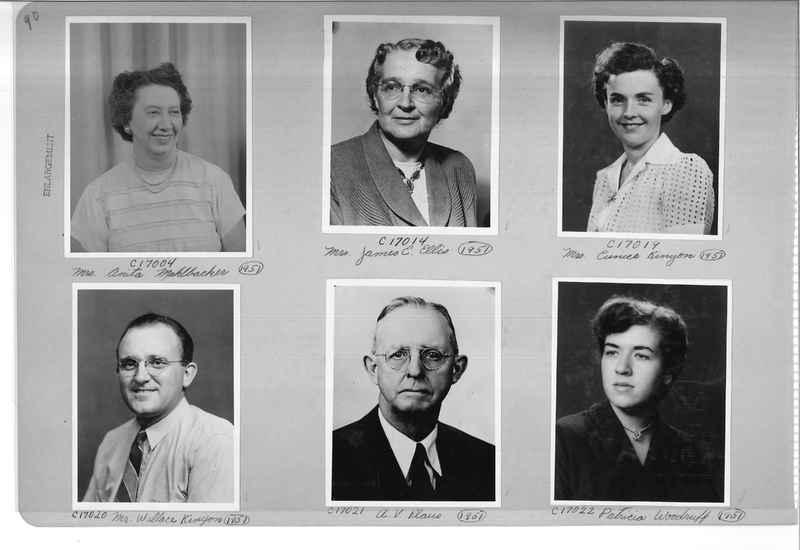 Mission Photograph Album - Portraits #07 Page 0090