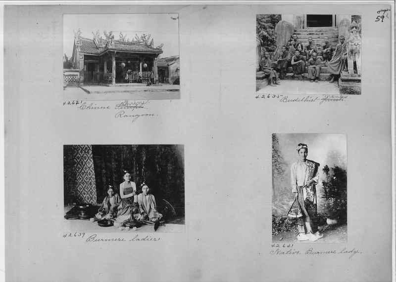 Mission Photograph Album - Burma #1 page 0059