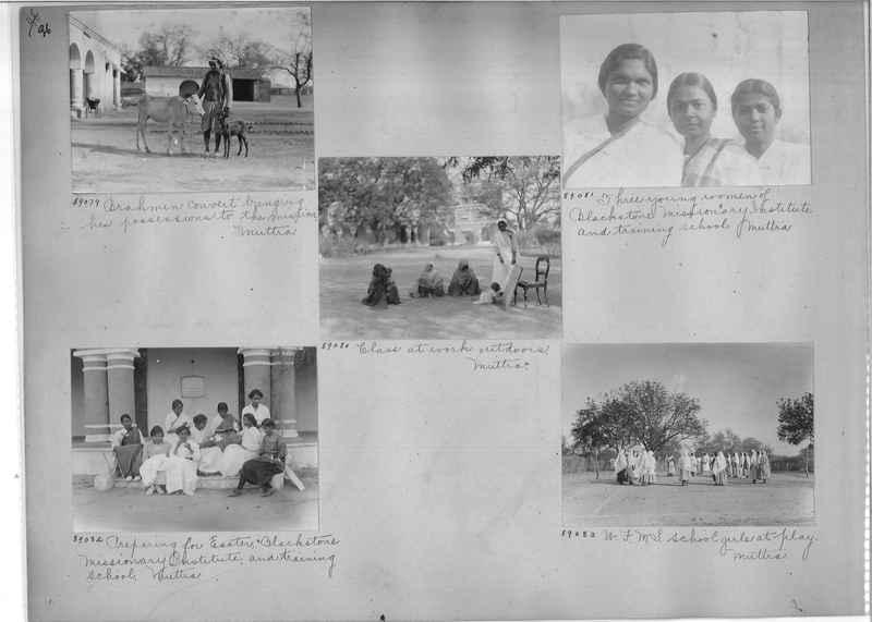 Mission Photograph Album - India #10 Page 0096