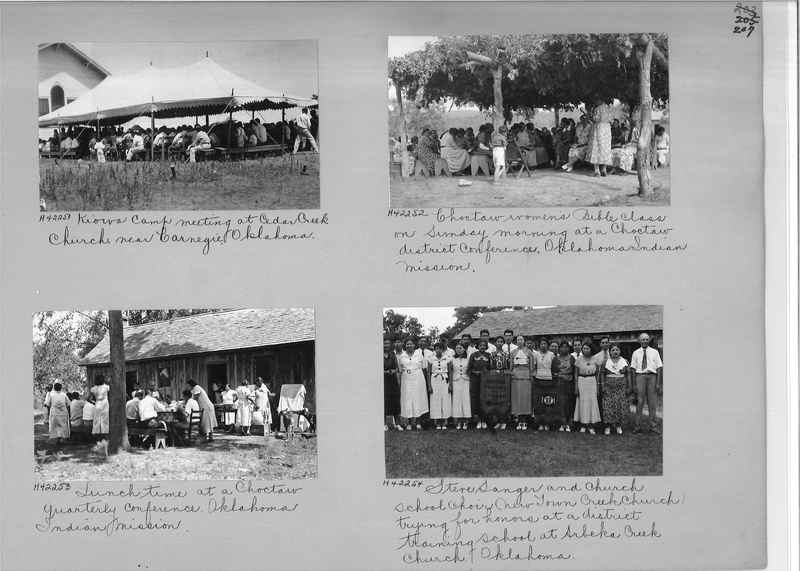 Mission Photograph Album - Indians #2 page_0207