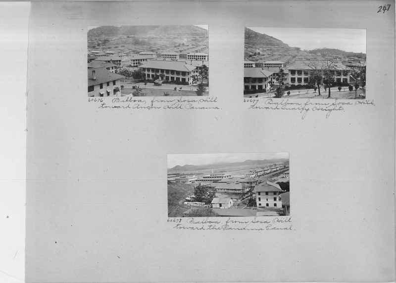 Mission Photograph Album - Panama #02 page 0247