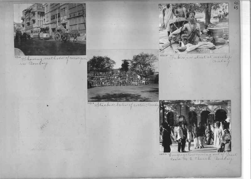 Mission Photograph Album - India #10 Page 0063