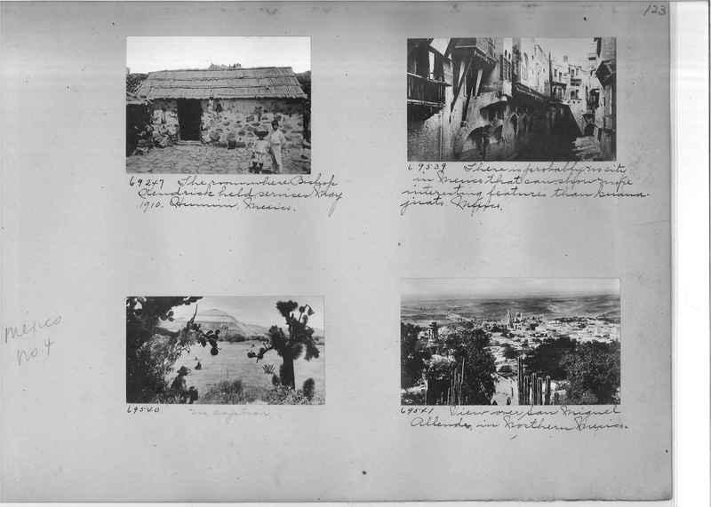 Mission Photograph Album - Mexico #04 page 0123
