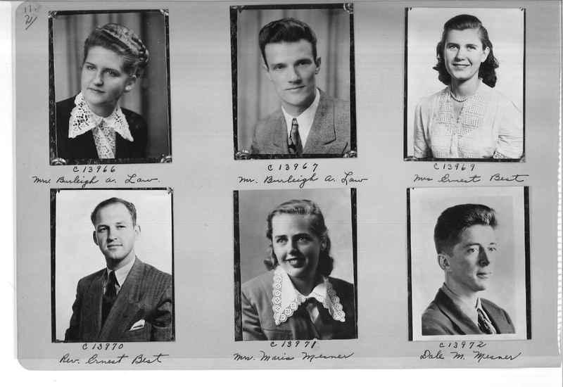 Mission Photograph Album - Portraits #07 Page 0002