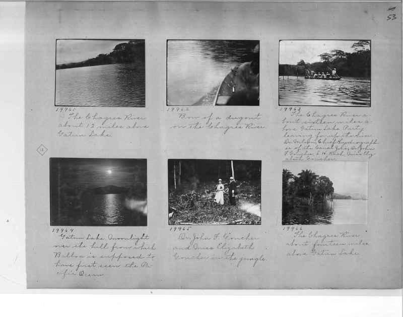 Mission Photograph Album - Panama #1 page  0053
