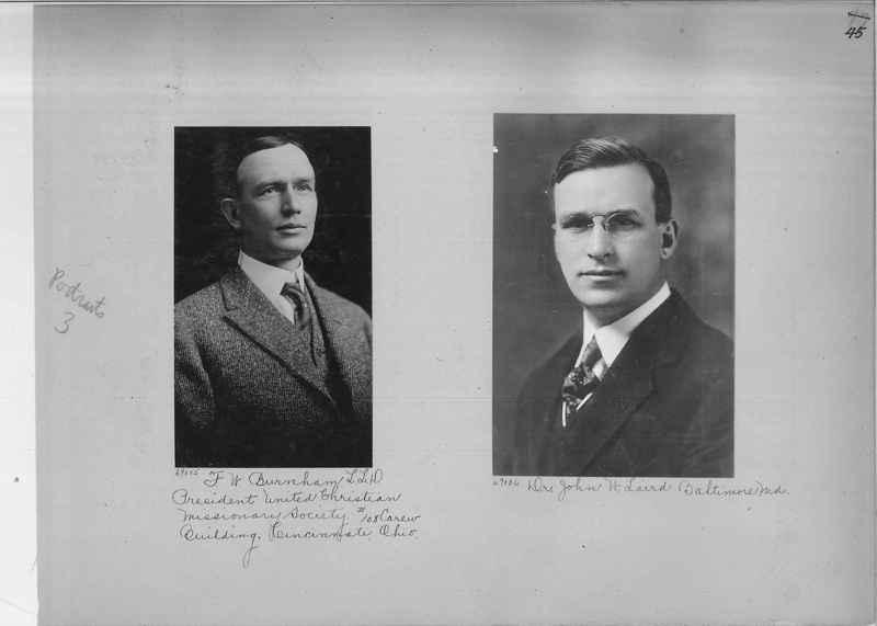 Mission Photograph Album - Portraits #3 page 0045