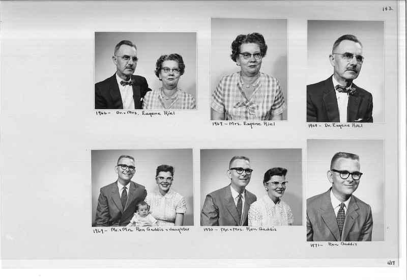 Mission Photograph Album - Portraits #11 Page 0143