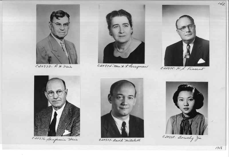 Mission Photograph Album - Portraits #09 Page 0143