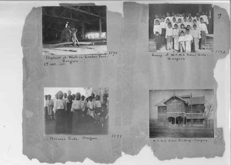 Mission Photograph Album - Burma #1 page 0007