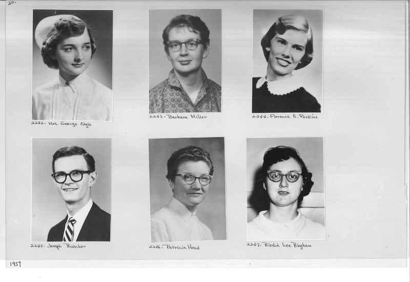 Mission Photograph Album - Portraits #12 Page 0020