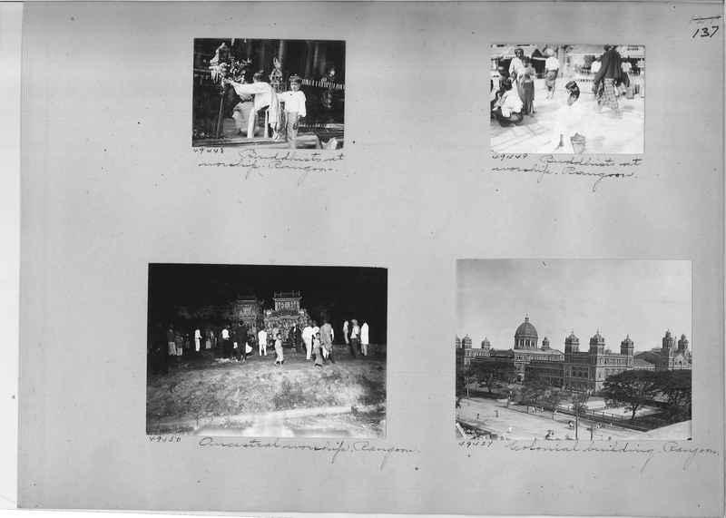 Mission Photograph Album - Burma #1 page 0137