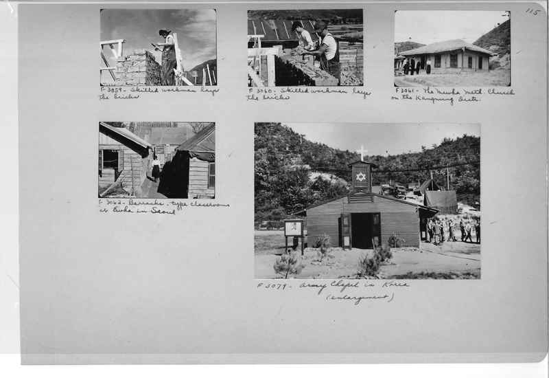 Mission Photograph Album - Korea #6 page 0115