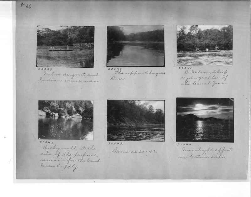 Mission Photograph Album - Panama #1 page  0066