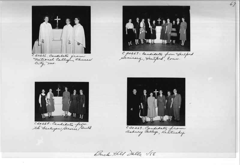 Mission Photograph Album - Portraits #09 Page 0067