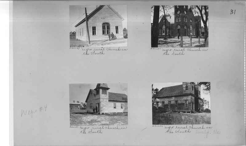 Mission Photograph Album - Negro #4 page 0031