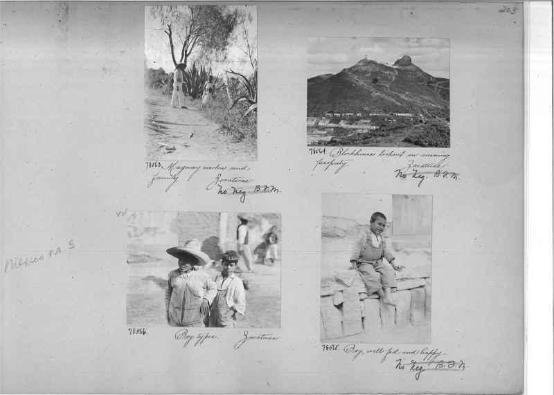 Mission Photograph Album - Mexico #05 page 0203