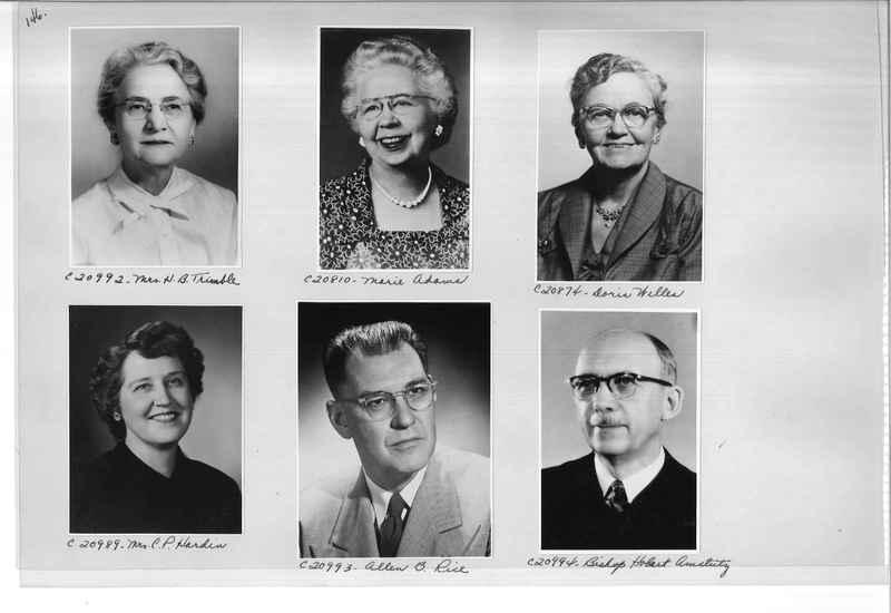 Mission Photograph Album - Portraits #09 Page 0146