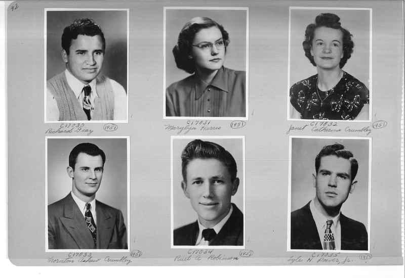 Mission Photograph Album - Portraits #07 Page 0092