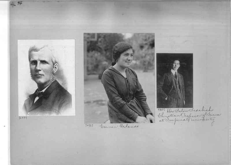 Mission Photograph Album - Portraits #3 page 0094