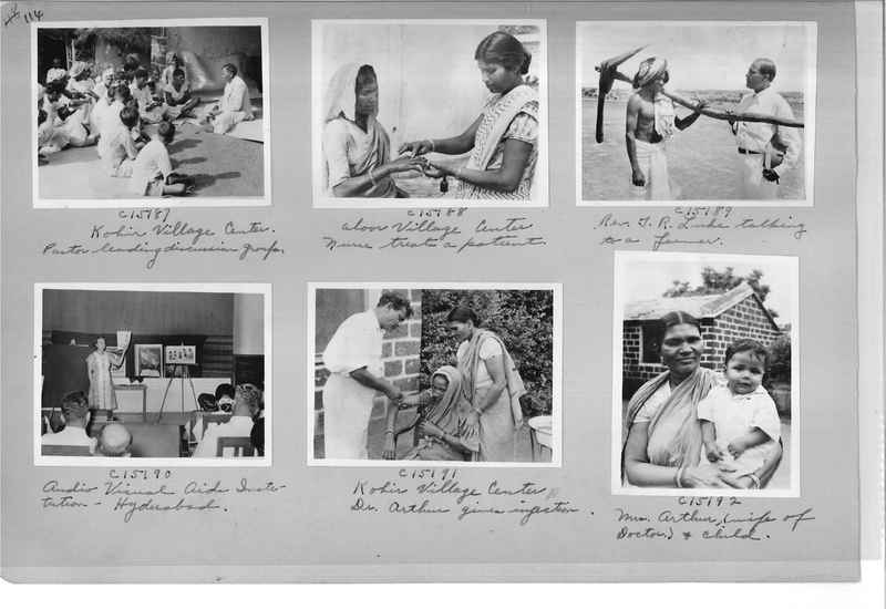 Mission Photograph Album - India #14 Page 0114