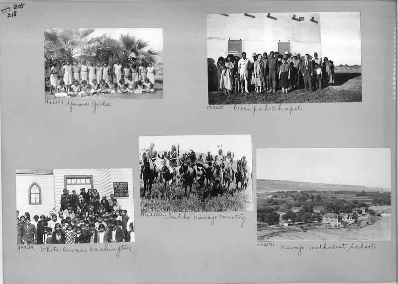 Mission Photograph Album - Indians #2 page_0218