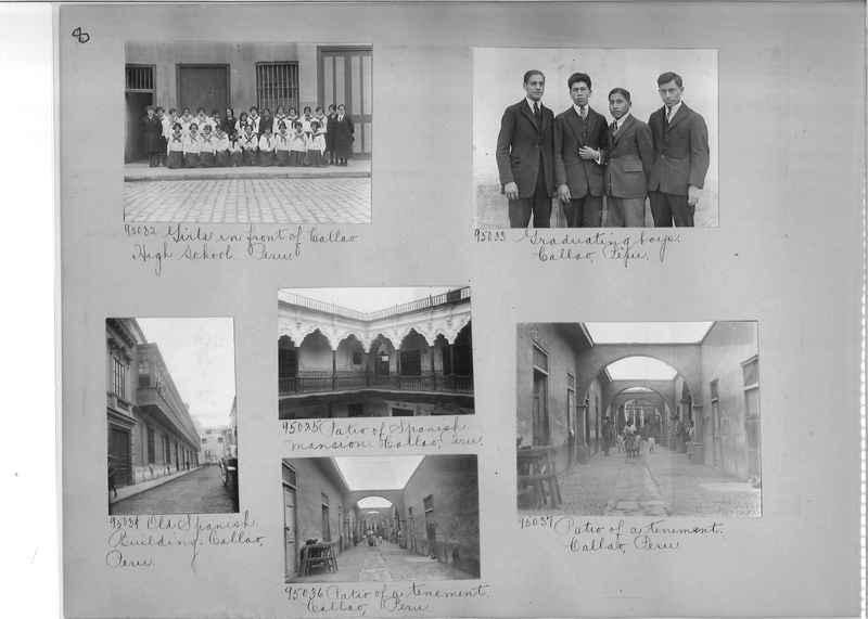 Misson Photograph Album - South America #8 page 0008
