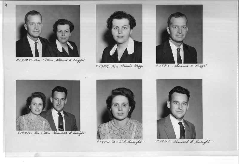 Mission Photograph Album - Portraits #09 Page 0006