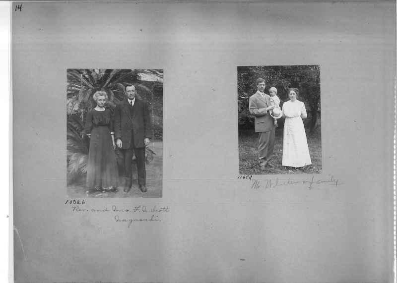 Mission Photograph Album - Portraits #1 page 0014