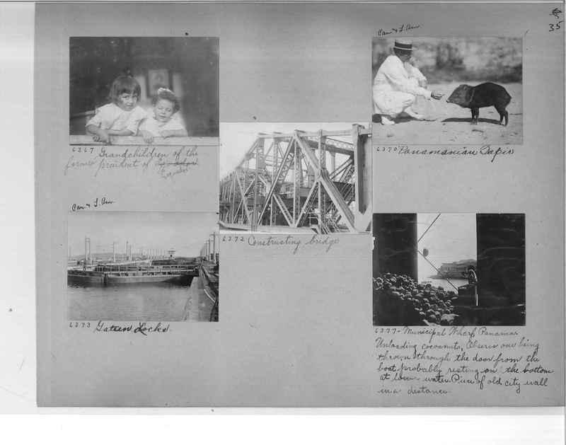 Mission Photograph Album - Panama #1 page  0035