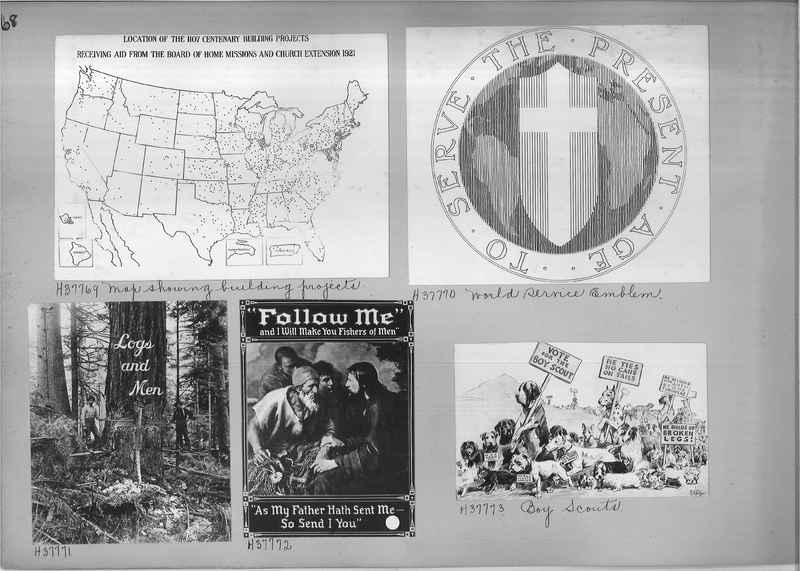 Mission Photograph Albums - Maps-Charts #02 Page_0068