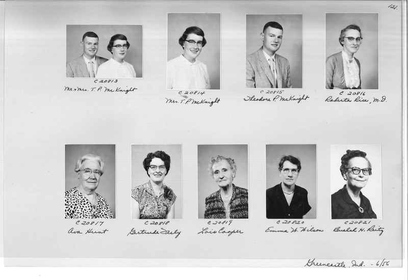 Mission Photograph Album - Portraits #09 Page 0121
