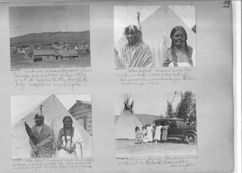 Mission Photograph Album - Indians #2 page_0103