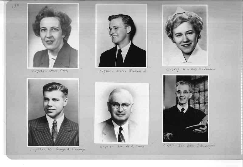 Mission Photograph Album - Portraits #07 Page 0130