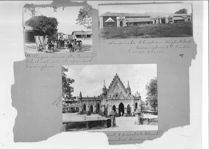Mission Photograph Album - India - O.P. #02 Page 0047