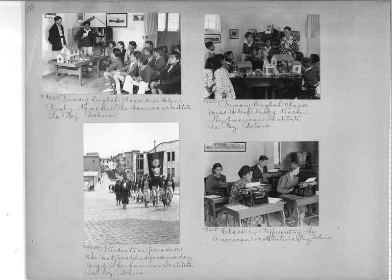Misson Photograph Album - South America #8 page 0158