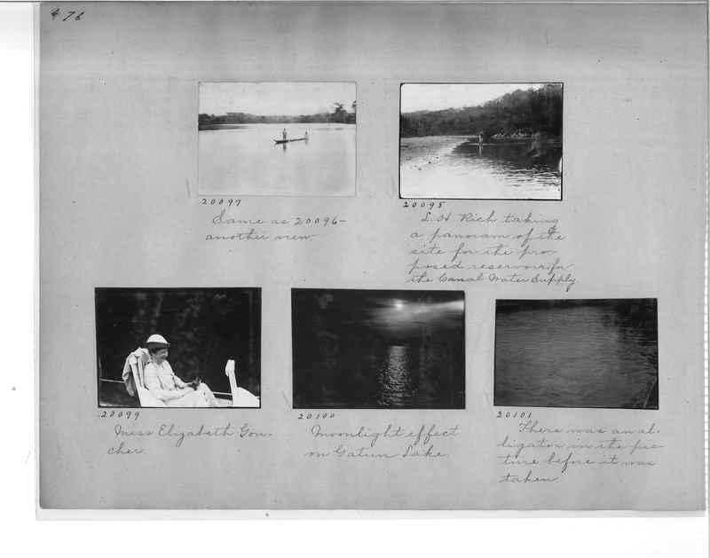 Mission Photograph Album - Panama #1 page  0076