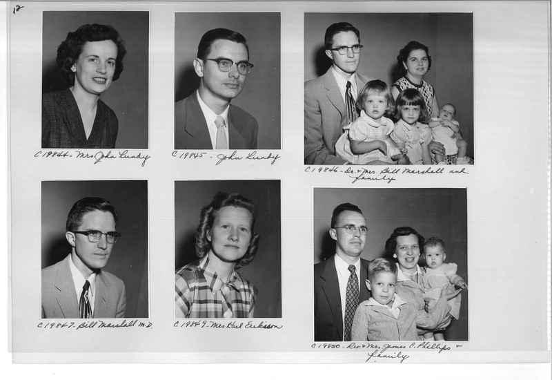 Mission Photograph Album - Portraits #09 Page 0012