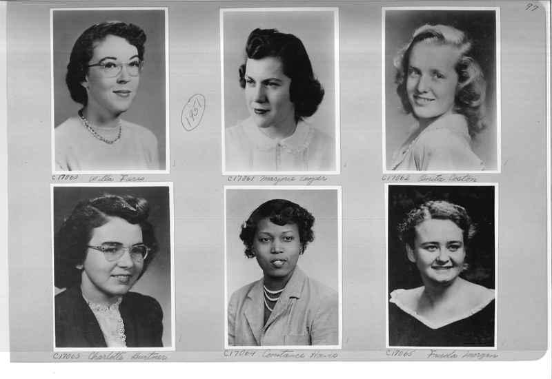 Mission Photograph Album - Portraits #07 Page 0097