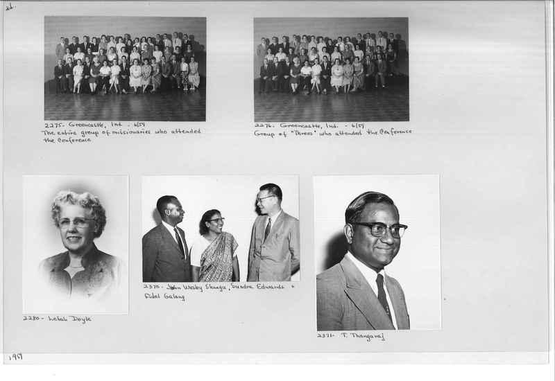 Mission Photograph Album - Portraits #12 Page 0024