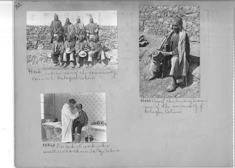 Misson Photograph Album - South America #8 page 0072