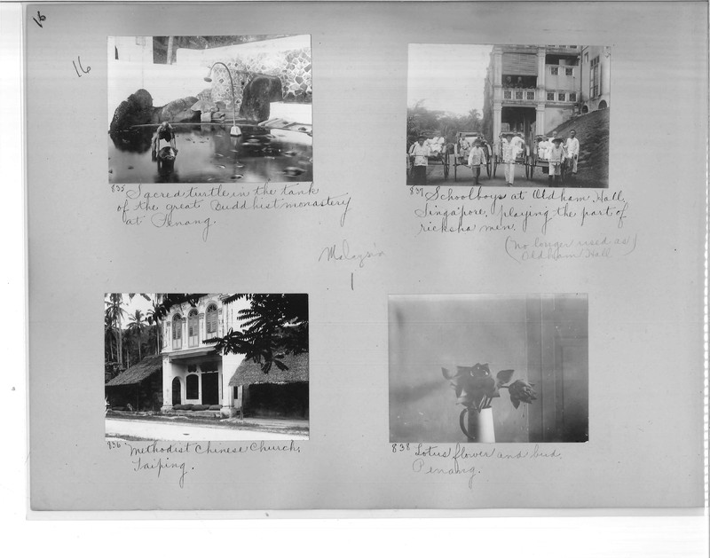Mission Photograph Album - Malaysia #1 page 0016