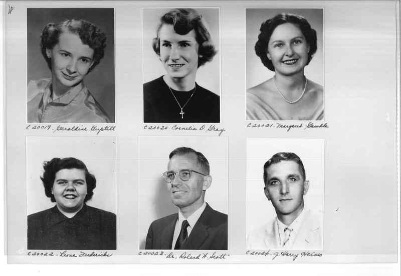 Mission Photograph Album - Portraits #09 Page 0040