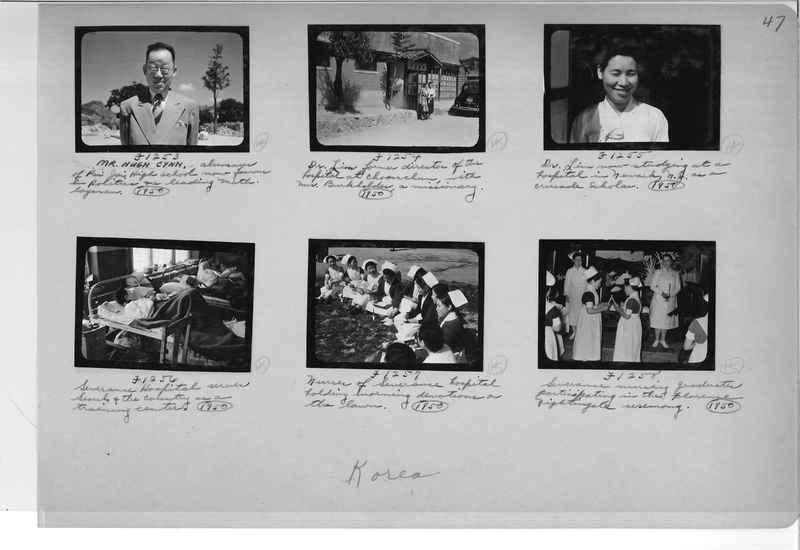 Mission Photograph Album - Korea #6 page 0047
