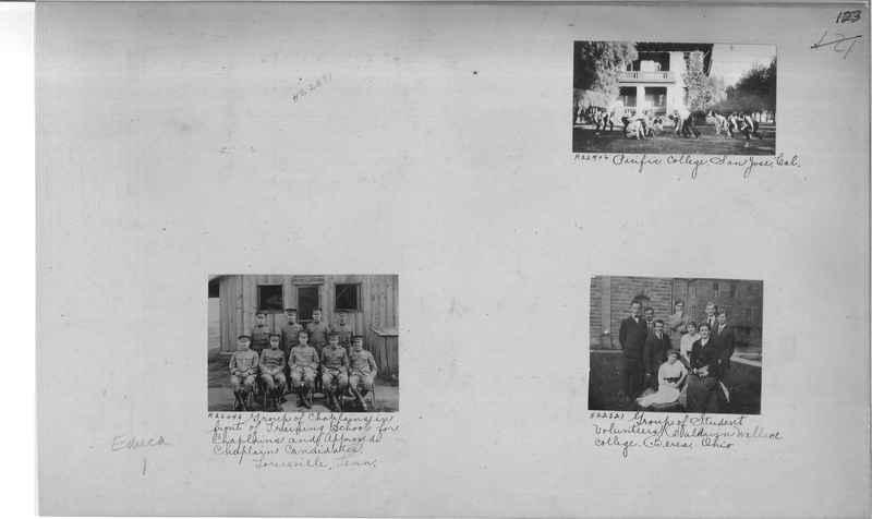 Mission Photograph Album - Education #1 page 0123