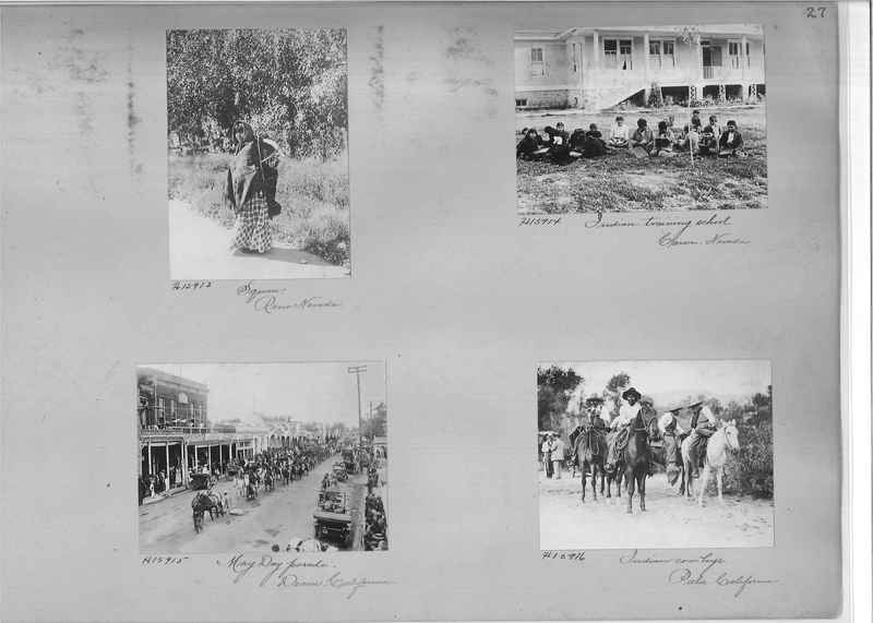 Mission Photograph Album - Indians #2 page_0027