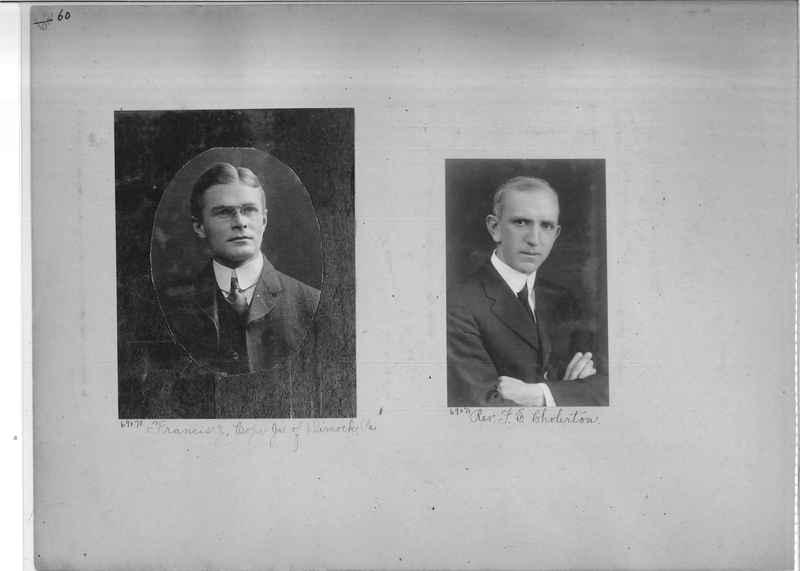 Mission Photograph Album - Portraits #3 page 0060