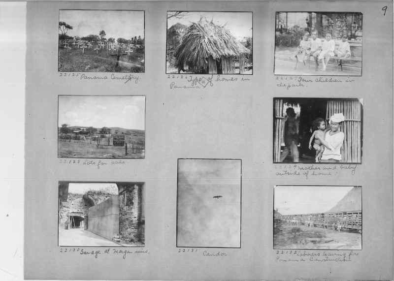 Mission Photograph Album - Panama #02 page 0009