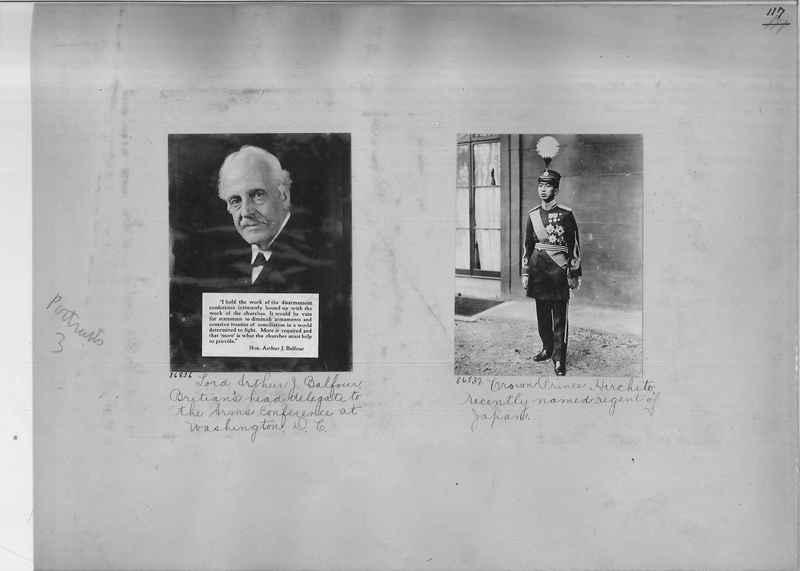 Mission Photograph Album - Portraits #3 page 0117