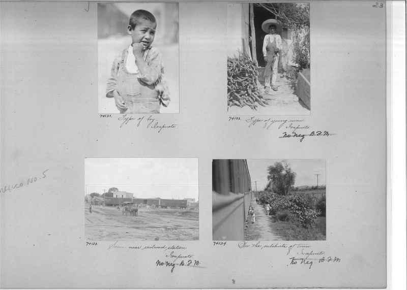 Mission Photograph Album - Mexico #05 page 0023