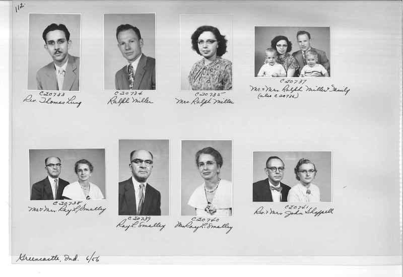 Mission Photograph Album - Portraits #09 Page 0112